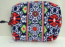 NWT VERA BRADLEY  Large Cosmetic Case In Sun Valley