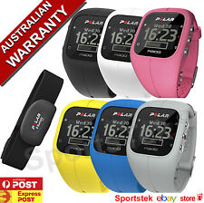 POLAR A300 HRM Activity Tracker Watch BLACK,WHITE,PINK,BLUE,YELLOW and GREY