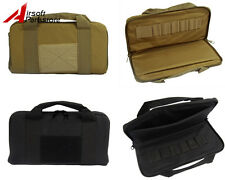 "14"" Nylon Padded Pistol Handgun Bag Magazine Carry Case Tactical Airsoft Hunting"