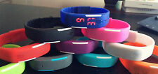 1 Men Women Jelly Rubber Silicone LED Sports Slim Bracelet Wrist Watches Band