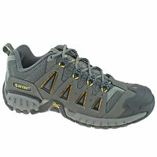 LADIES HI-TEC HIKING WALKING TRAINERS SIZE UK 4 - 8 SHOES GREY MULTITERRA ALPHA