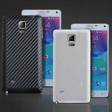New Carbon Fiber Replace Back Battery Cover Case #C For Samsung Galaxy Note 4