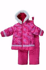 NWT 4 5/6 6X Girls OshKosh Snowsuit ski outfit with bib snow pants $100 New