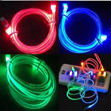 Hot Pop 4 4S Glowing LED Visible Light USB Sync Data Charging Charger Cable Cord