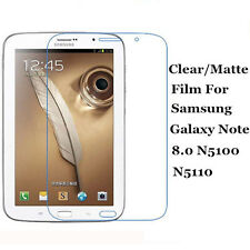 Clear/Matte Screen Protector Film Lot For Samsung Galaxy Note 8.0 N5100 N5110