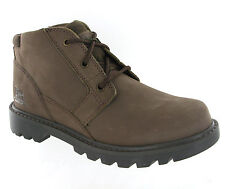 New Mens CAT Caterpillar Graft Brown Leather Ankle Chukka Boots Size 6-12 UK