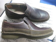 NIB Clarks Seeley Step 02131Casual Leather Slip On PREMIUM COMFORT  Loafer Shoes