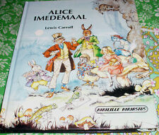 ESTONIAN LEWIS CARROLL ALICE IN WONDERLAND ILLUSTRATED BY RENE CLOKE