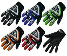 NEW KIDS BMX CYCLE GLOVES - JUNIOR YOUTH CHILDREN - BICYCLE SKATE BIKE - 3 SIZES