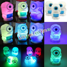 Despicable Me 2 Minions Figures LED Color Changing Colorful Night Light Lamp Toy