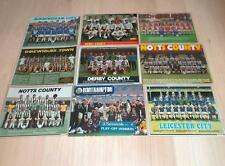 Laminated Football Team Group Magazine Photos/Posters -Midlands-Choose your team