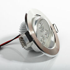 Dimmable CREE 3W 5W Downlight LED Recessed Ceiling Light Fixtures 30°Rotate Bulb