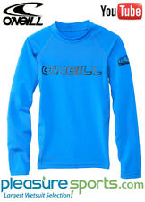 O'Neill Youth Basic Skins Long Sleeve Rashguard 50+ UV Protection Kids Boys Girl