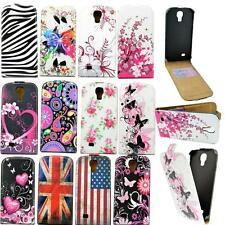 Leather Skin Card Folding Cell Phone Case Cover For Samsung Galaxy S4 S IV i9500