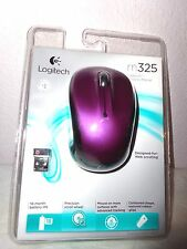 Logitech M325 Wireless Laser Mouse Limited Edition VIOLET PURPLE NEW Sealed