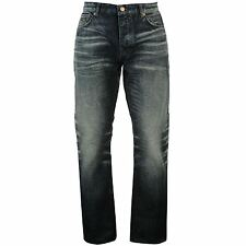 Firetrap Mens Koe Rom Premium Denim Jeans Pants Bottoms Trousers Clothing