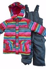 NWT Girls 4 5/6 6X Rugged Bear 2-Piece Snowsuit ski outfit $120 Retail New