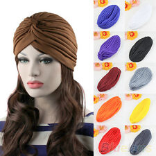 Admiring Unisex Indian Style Stretchable Turban Hat Hair Head Wrap Cap