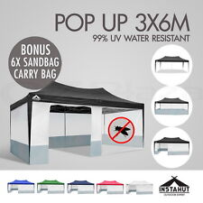 3X6 GAZEBO POP UP FOLDING PARTY TENT EVENT MARQUEE OUTDOOR PAVILION CANOPY