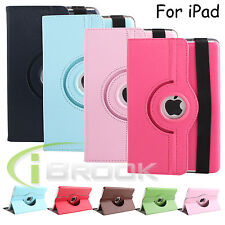 Smart 360 Rotating Folio PU Leather Case Cover for Apple iPad Pro 12.9 inch New