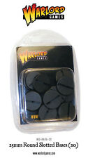 Warlord Games BNIB 25mm Round Slotted Base (20) WG-Base-20