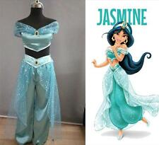 Holloween Cosplay Costume Aladdin Jasmine Princess Adult Belly Dancer Costume
