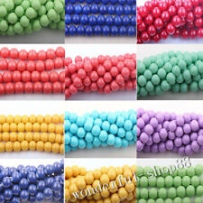Wholesale 50pcs Top Quality Czech Crystal Glass Round Craft Bead 4/6/8/10mm