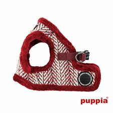 Dog Puppy Harness Soft Vest- Puppia - OZ - Wine Red - Choose Size