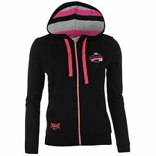 Everlast Womens Ladies Zip Hoodie Hoody Hooded Long Sleeve Elasticated Cuffs