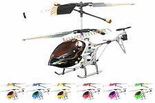 Gyro Metal 3CH Mini RC Helicopter SH 6020-1 X-Power NEW