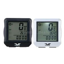 Wireless Bike Bicycle Cycling LCD Computer Odometer Speedometer Stopwatch 69K3