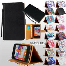 For Various NGM DYNAMIC Mobile Phones -Stand Leather Wallet Card Flip Case Cover