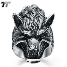 High Quality TT 316L Stainless Steel Wolf Ring Size 8-13 (RZ149) NEW