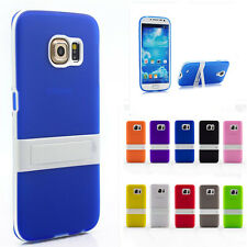 Slim Hybrid Frosted Shockproof Kickstand Hard Stand Case Cover Skin For Samsung