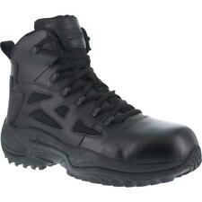 "Reebok RB8674 Rapid Response RB 6"" Stealth Boot Side Zip Comp Toe Military Men's"