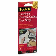 Scotch Envelope/ Package Clear Sealing Tape Strips