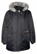 New Pulse Womens Plus Size 1X 2X 3X 4X 5X 6X Anorak Parka Coat Xena Black $249