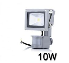 10W 20W 30W  PIR LED Flood light White Floodlight  Motion Sensor 85-265V LW42