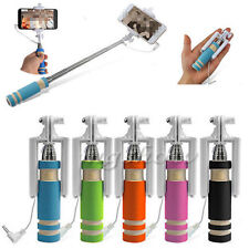 Mini Handheld Extendable Wired Selfie Stick Monopod for iPhone 6/6S plus Android