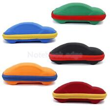 Car Shaped Zipper Spectacles Glasses Sunglasses Box Hard Case Cover Pouch