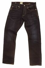 G-STAR RAW 3301 TAPERED JEANS, HADRON DENIM, DK AGED, BNWT