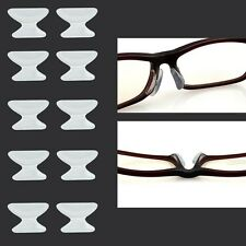 5 Pair Silicone Stick Sunglass Eyeglass Glasses Spectacles Anti-Slip On Nose Pad