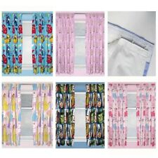KIDS DISNEY AND CHARACTER CURTAINS 54 + 182.9cm DROP - CHILDRENS - BOYS + GIRLS