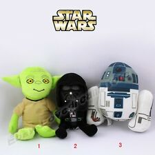 "Star Wars Darth Vader/Yoda/ R2-D2 Robot 20cm/8"" Soft Stuffed Plush Doll Toy  S"