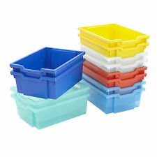 Gratnells Tray Storage 10 x Deep Trays Mega Deal School Trays Nursery Office
