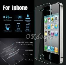 High Quality Tempered Glass Film Screen Protector Guard For Apple iPhone 5/6/6S