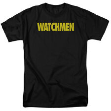Watchmen Alan Moore Logo Comic Book Movie Adult T-Shirt Tee