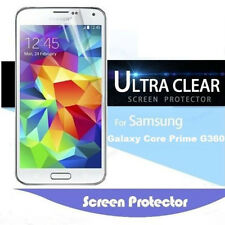 1x Clear Screen Protector For Samsung Galaxy Core Prime G360 Lot &Cleaning Cloth