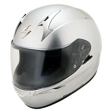 Scorpion EXO-R410 Solid Hypersilver Full Face Motorcycle Helmet