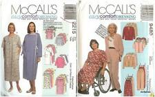 OOP Misses Special Needs McCalls Sewing Pattern Easy Comfort Dressing You Pick
